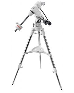 Bresser EXOS-1 Manual German Equatorial Mount. Slow motion controls allow easy following of your object. Includes a robust steel