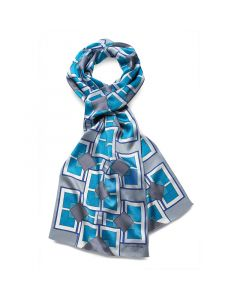IMPERIAL HOTEL SCARF-SILVER